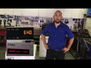 Foutcode EH0 - EHO Aeg, Electrolux, Zanussi wasdroger.