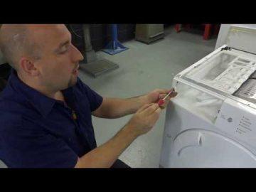 Bosch Siemens wasdroger doet niets meer. Printplaat reparatie, De witgoedmonteur.nl